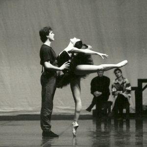 Swan Lake. Milena Onufrowicz, Wojciech Slezak, Teatr Wielki Warsaw, coached by Martin Meng