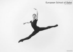 Noah Hak, Student an der European School of Ballet